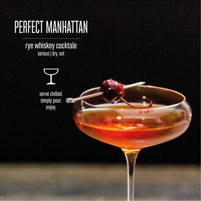 Perfect Manhattan Bottled Cocktail Mood