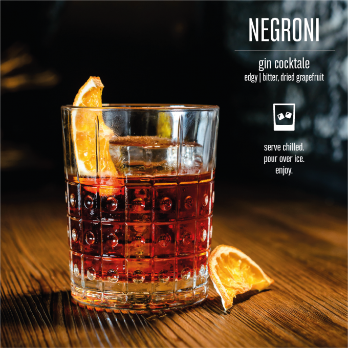 Negroni Bottled Cocktail Mood