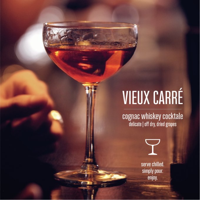 Vieux Carré Bottled Cocktail Mood