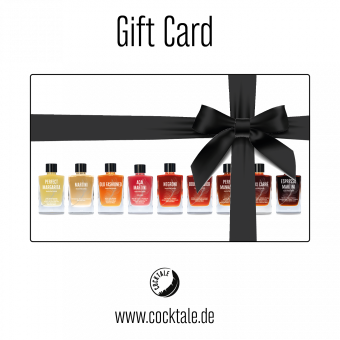 Gift Card • COCKTALE • premium bottled Cocktails