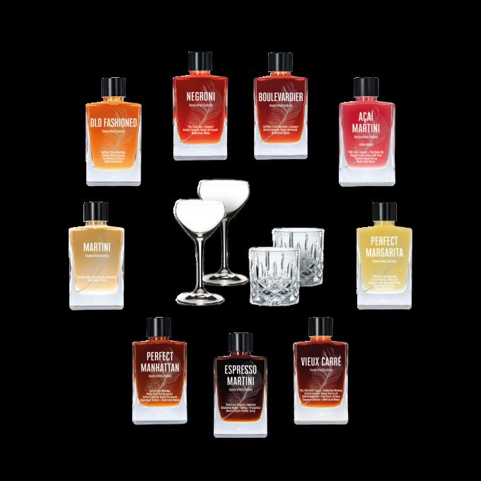 Cocktale • Ensemble Überzeugt • 4 Gläser