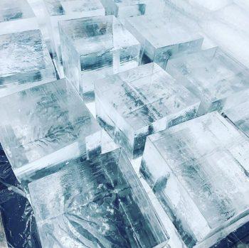 Cocktale Clear Eis Eiswürfel